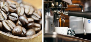 Kaffeebohnen_Espressomaschine_Kombination_Coffea-Kaffee